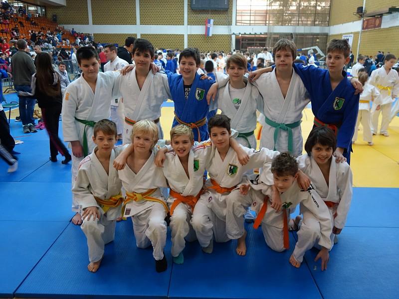 Donacija prenosnika Judo klubu Olimpija
